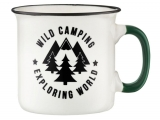 AMBITION Porcelánový hrnček Adventure Wild Camping 510 ml