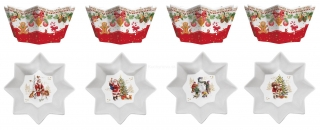 Christmas set misiek, 4 ks